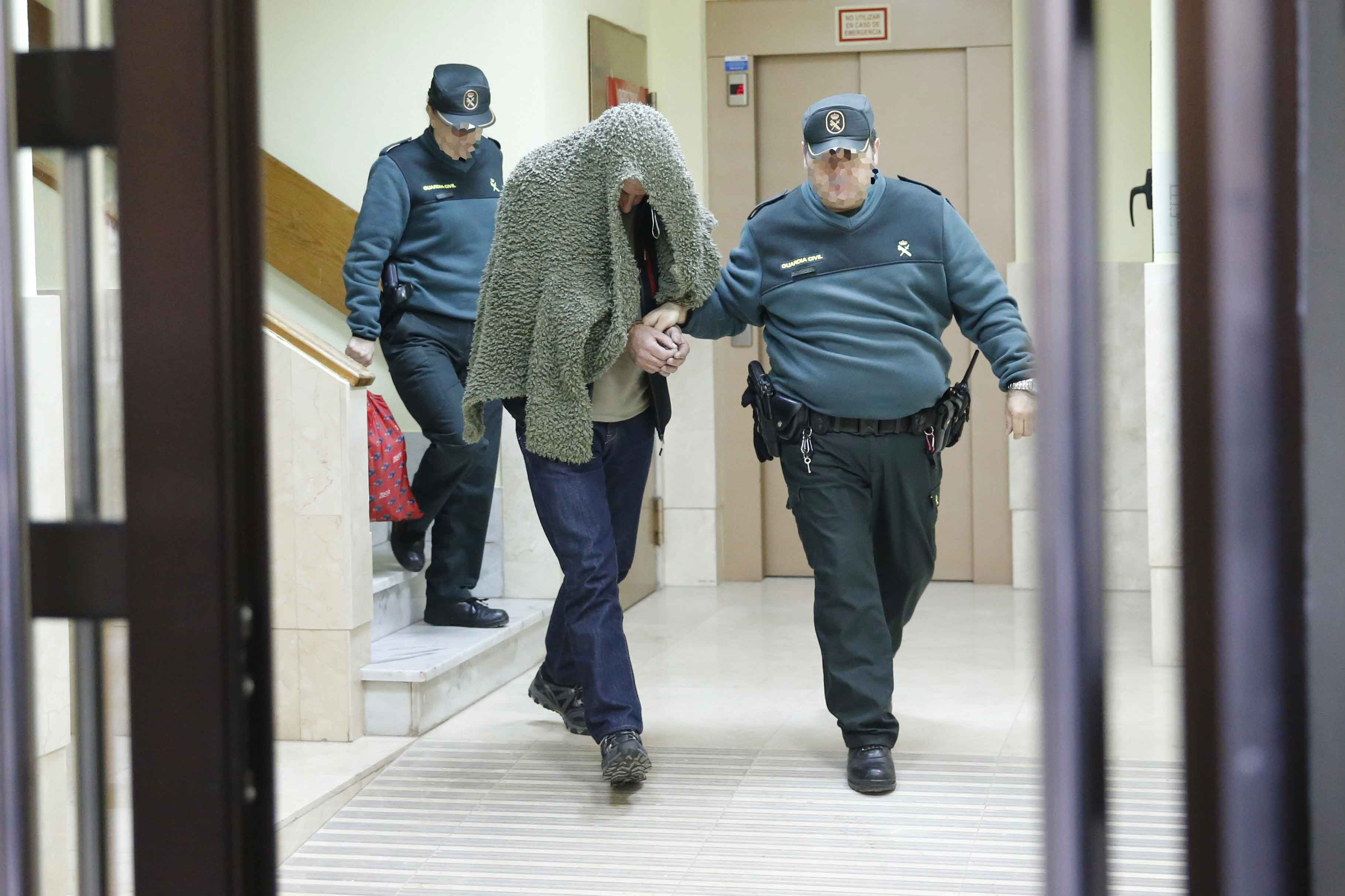 El acusado de matar a su hijo en Lantero, ante el juez