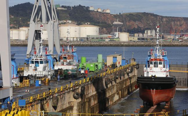 Dos nuevos barcos garantizan la carga de trabajo en 2018 en el astillero gijonés de Armón