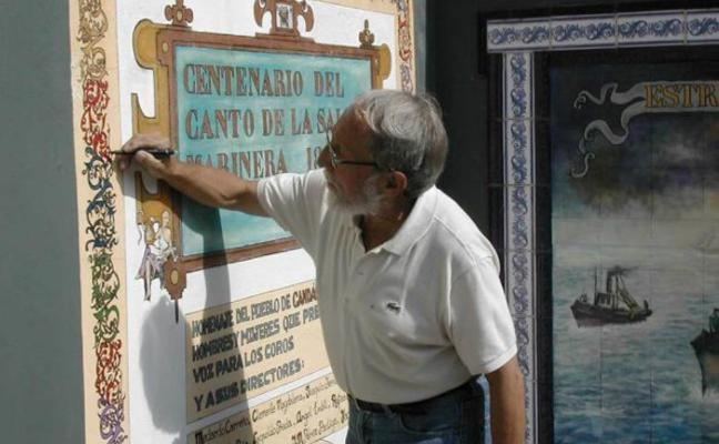 Fallece Alfredo Menéndez, el pintor de los murales de Candás e Hijo Predilecto
