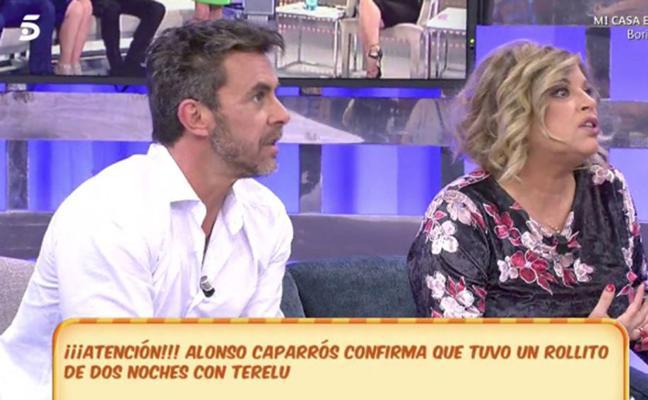 El romance secreto entre Terelu Campos y Alonso Caparrós