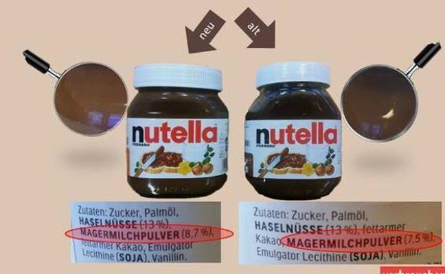 Boicot a Nutella en las redes por este cambio en su receta