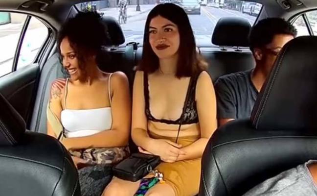 Una pasajera roba las propinas a un conductor de Uber