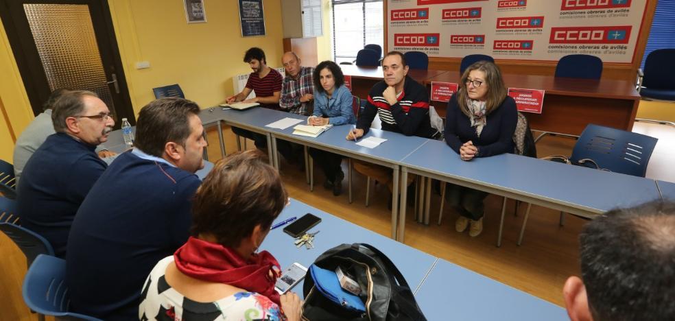 IU y CC OO piden perspectiva comarcal en los plantes de concertación social