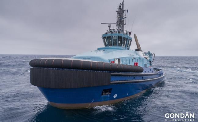 Gondán construirá un remolcador rompehielos híbrido para Suecia