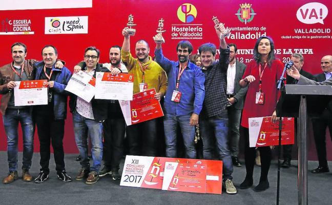 Una tapa de Pepe Ron triunfa en el campeonato de España