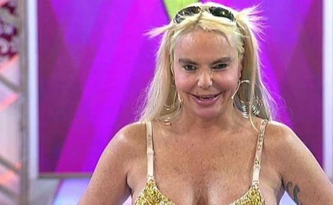Leticia Sabater se opera su 'ojo rebelde'