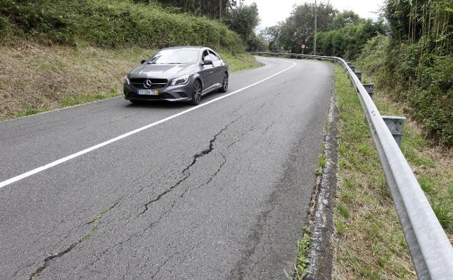 Las obras de reparación de la carretera Piles-Infanzón arrancarán en dos semanas