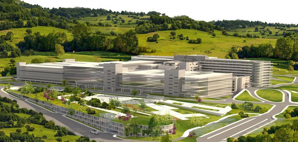Así será el nuevo Hospital de Cabueñes
