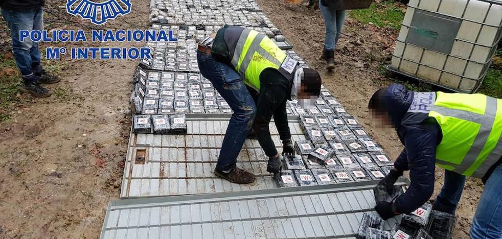 La Policía incauta uno de los mayores alijos de cocaína intervenidos en España