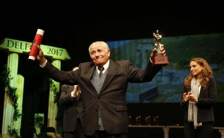 Gala de entrega de los Premios Delfos 2017, en Langreo