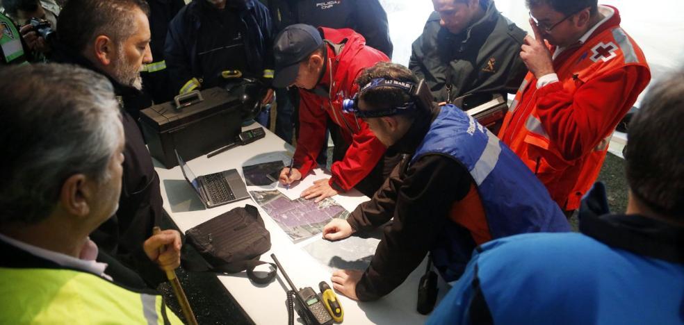 Rescate contra reloj en Lugones