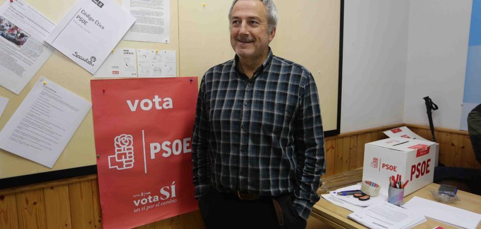 Díaz Bermúdez, nuevo secretario general de los socialistas riosellanos