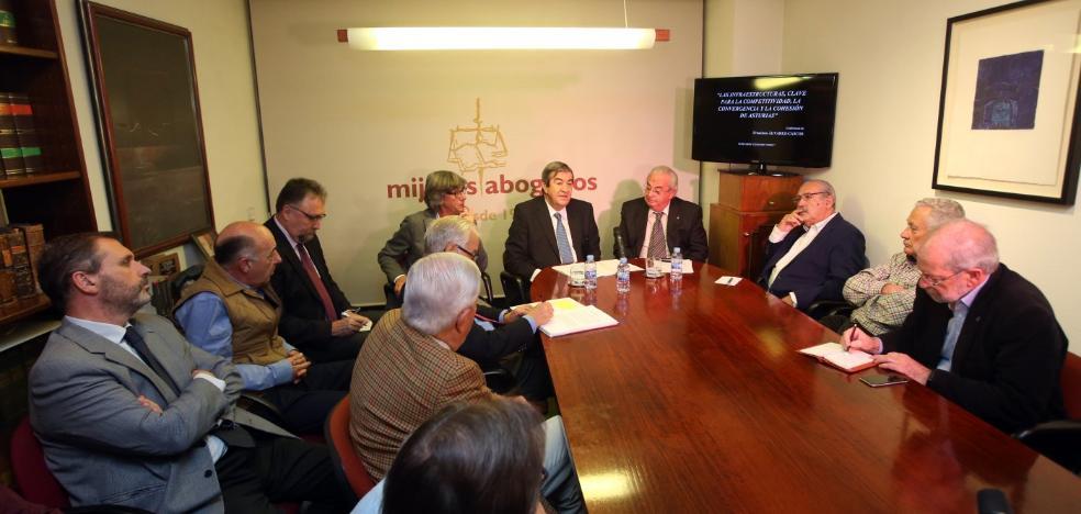 Cascos critica la «indiferencia» de la sociedad civil asturiana con la variante