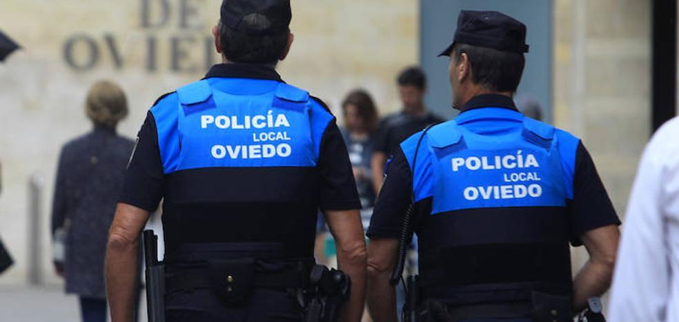 Detenido un hombre de 42 años por agredir a su pareja en Oviedo