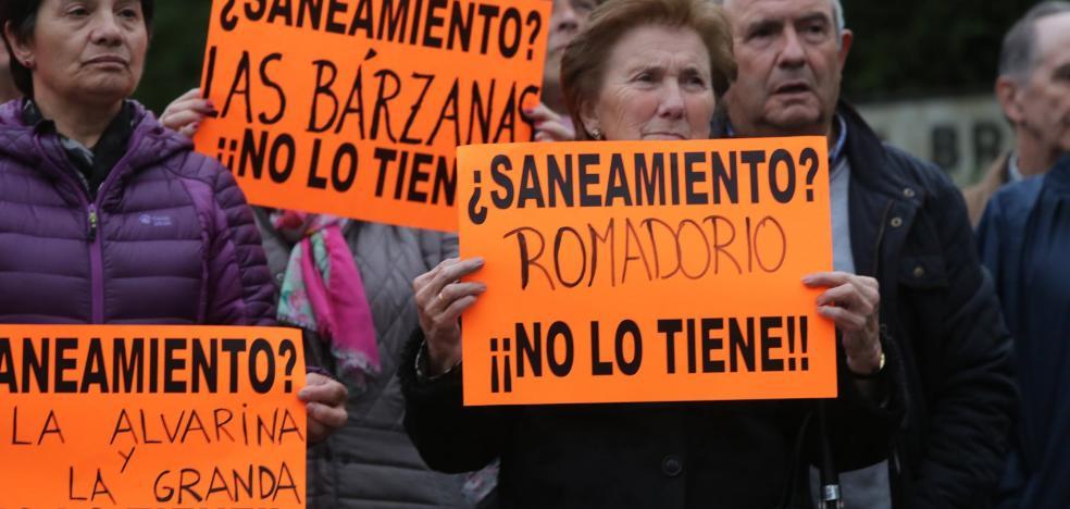 Más de dos mil viviendas carecen de red de saneamiento en Castrillón