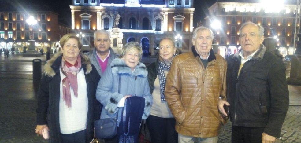 Emilio Garcíablanco celebra sus 90 años con la familia en Valladolid