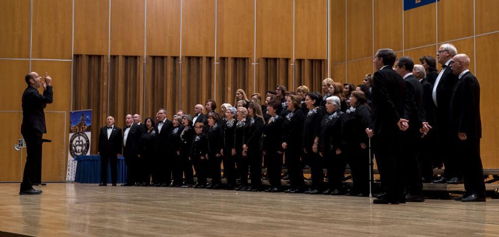 Concierto coral en el auditorio