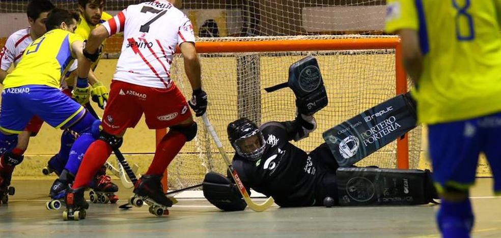 Remontada sin efecto del Asturhockey ante el Vic