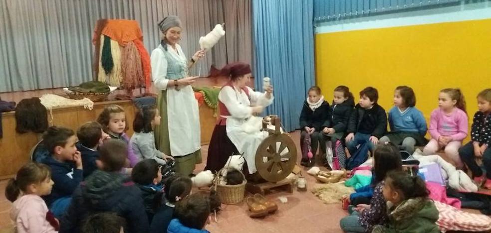 Alumnos del Montoto recuperan la tradición