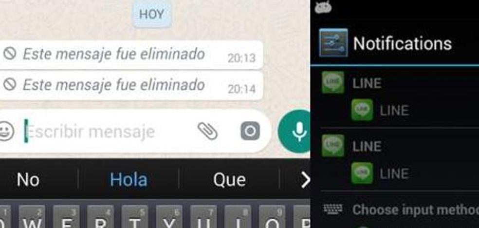 WhatsApp: así puedes ver un mensaje eliminado por otra persona