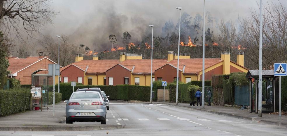Siero figura entre los municipios del país con más incendios forestales