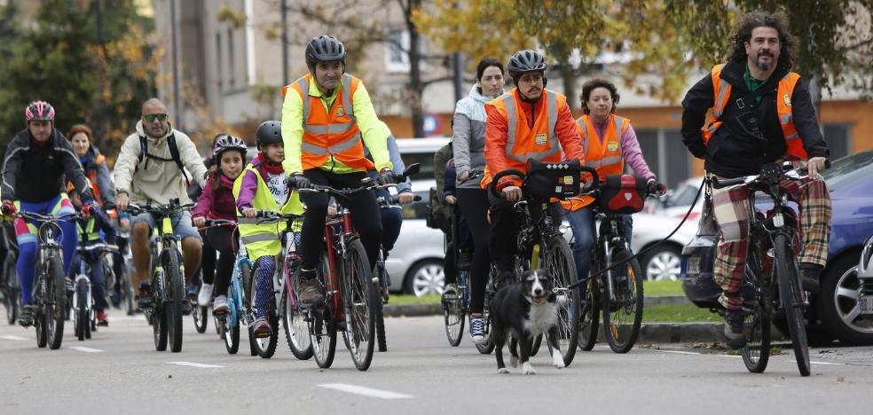 Los ciclistas piden «más civismo»