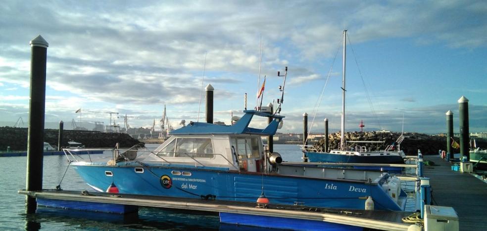 El Centro Integrado de FP del Mar incorpora un barco para clases prácticas