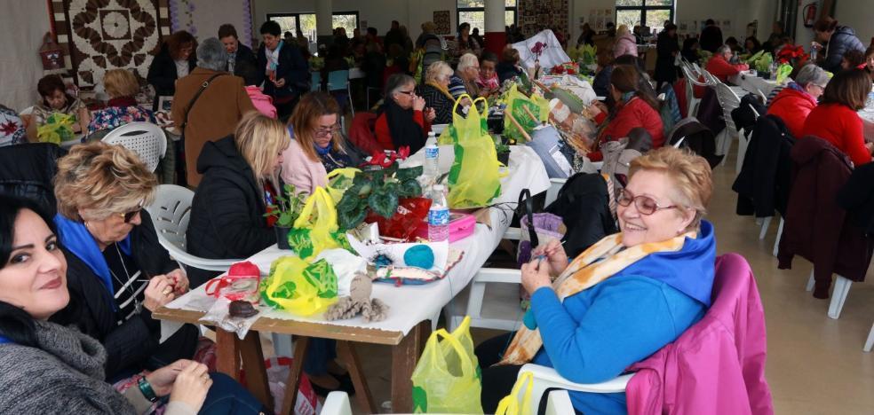 200 participantes en el encuentro de patchwork de Santullano