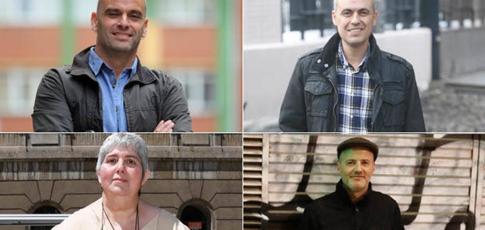 El futuro del PSOE, a cuatro bandas