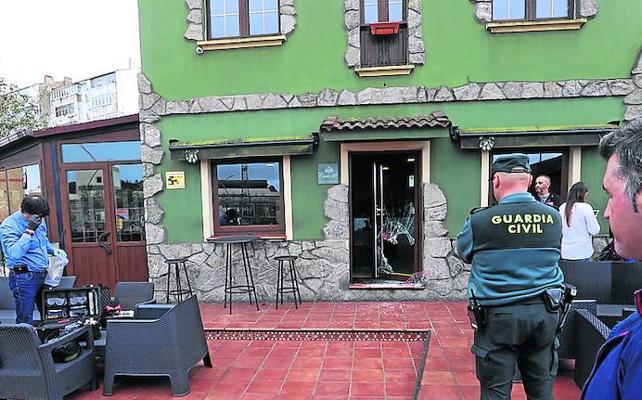 Roban la recaudación de la máquina tragaperras en el restaurante Cueto 18 de Trasona