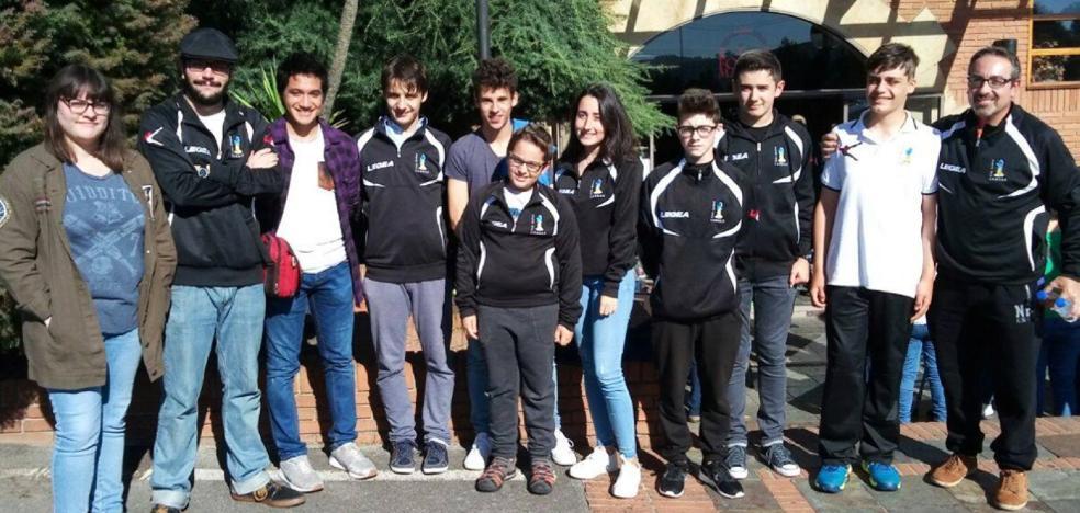 El Club Ajedrez Candás se proclama campeón de Asturias sub-18