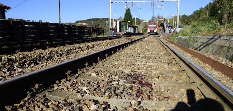 Muere un hombre arrollado por un tren en el apeadero de Las Segadas