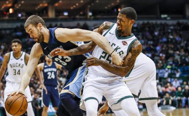 Un 'doble-doble' de Marc Gasol no evita la derrota de los Grizzlies