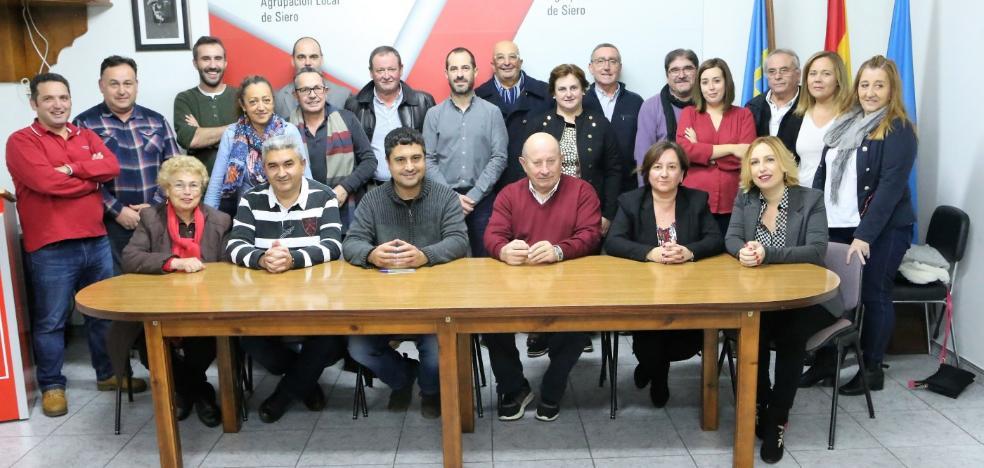 La nueva ejecutiva del PSOE de Siero fija el calendario de reuniones