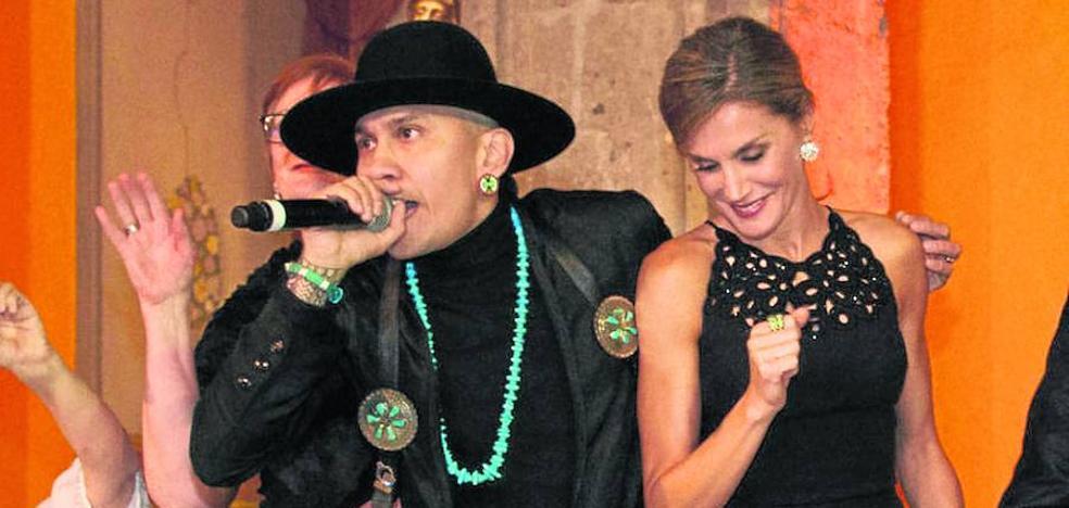 Doña Letizia baila al ritmo de Taboo en México