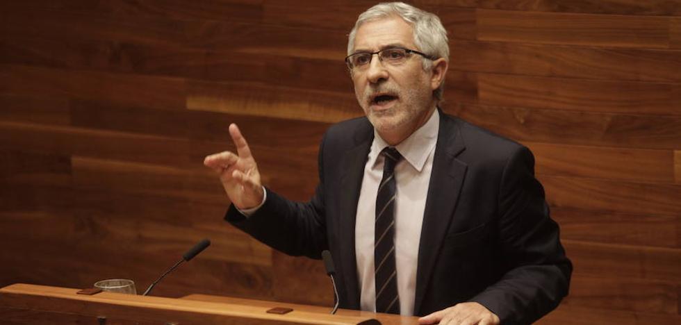 Llamazares: «El Principado suspende en transparencia»