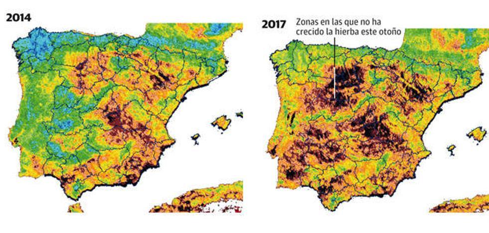 Asturias, cada vez menos verde