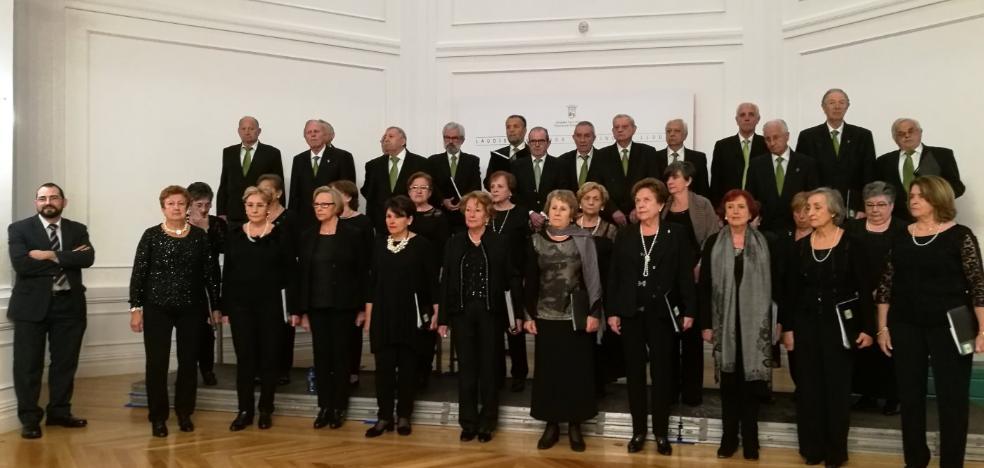 Éxito de la Coral Costa Verde en un festival de Llodio