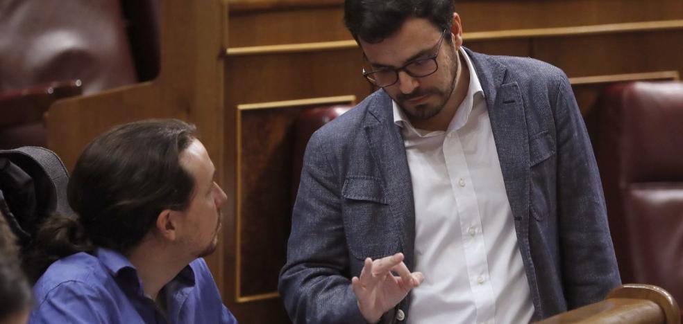Alberto Garzón plantea a las federaciones una 'derrama' para financiar la deuda de IU