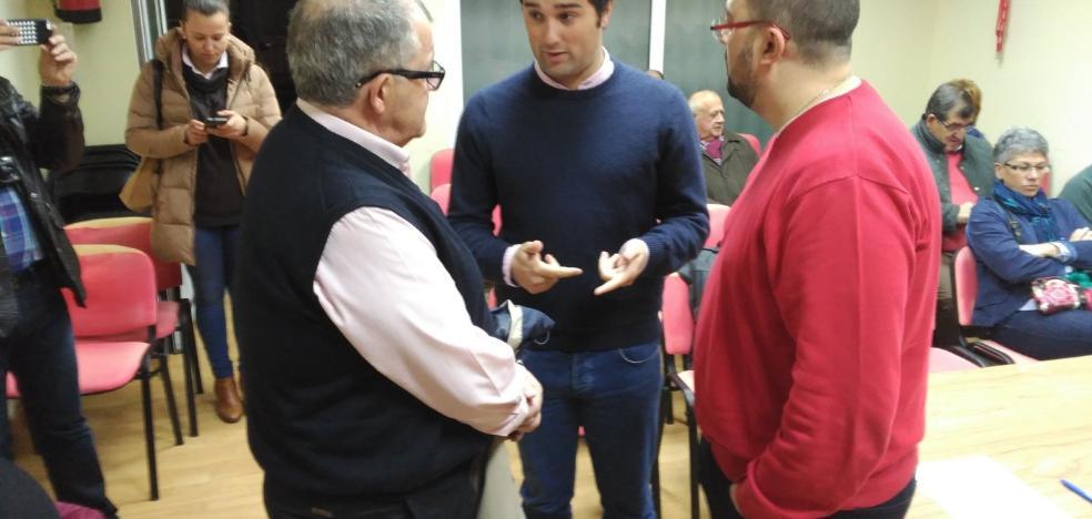 Óscar Pérez, elegido nuevo secretario del PSOE de Valdés