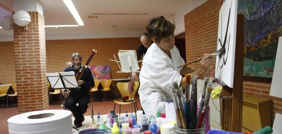Pintar al ritmo de la OSPA