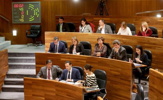 El PSOE se abstiene en el asturiano y el rechazo del PP a la oficialidad no prospera