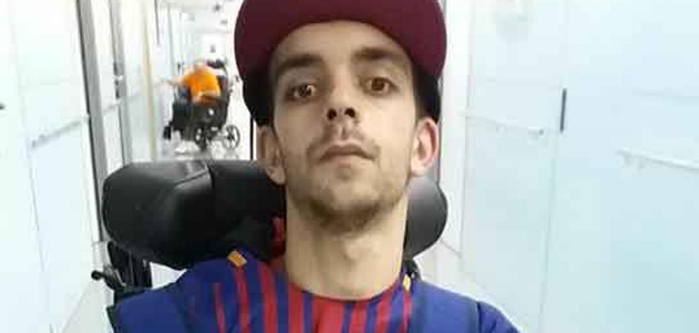 Germán «se adapta muy bien» a la rehabilitación en Barcelona