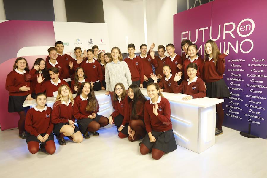 Futuro en Femenino: Colegio San Vicente de Paul (Gjión)