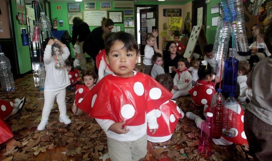 Magüestu en la escuela infantil María Balbín