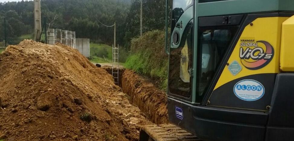 Adecuación de viales y mejoras en el saneamiento en Molleda