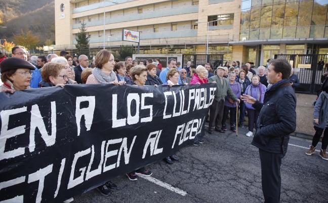 Vecinos del Alto Aller temen que los problemas judiciales cierren el geriátrico