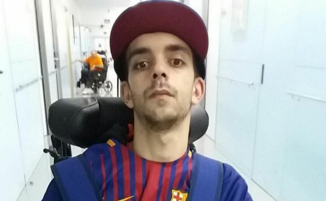 Germán, «muy contento» con la terapia de rehabilitación en la clínica de Barcelona