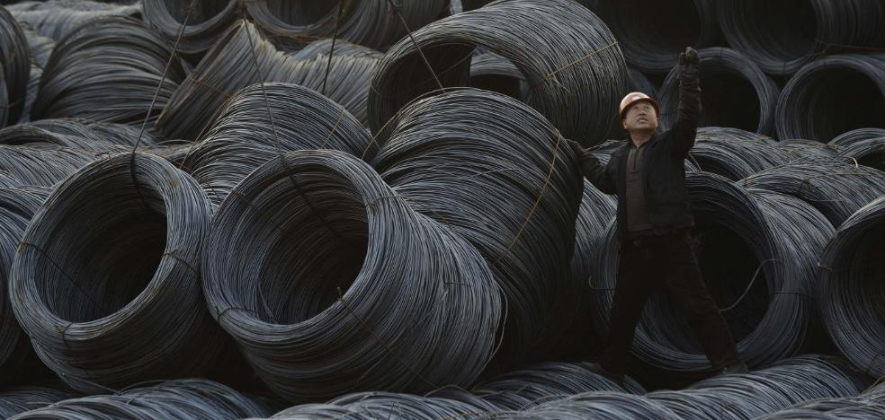 Arcelor vigila ahora a Turquía e India tras caer un 45% las compras de acero chino en Europa