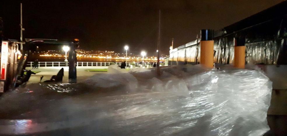 La gran maqueta del 'Titanic' llega a Gijón